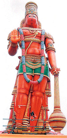 85-Feet Hanuman at Trinidad, West Indies